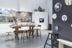 Tom robuust stoer | Een oude werkbank in het interieur - Woonblog StijlvolStyling.com (old workbench for your interior)