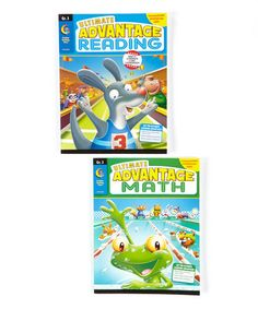 This Ultimate Advantage Third Grade Reading & Phonics Workbook Set is perfect! #zulilyfinds