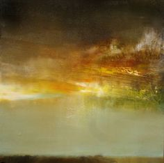 """Dusk,"" landscape painting by artist Maurice Sapiro (USA) available at Saatchi Art #SaatchiArt http://www.saatchiart.com/paintings/landscape"