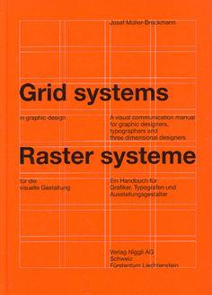 Josef Müller-Brockmann / Grid Systems in Graphic Design / Book / 1968