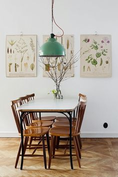 Replicate this style with our super botanical illustrations. All just €5/ea + €2 flat rate global shipping - theprintmakers.co