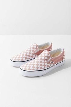 Shop Vans Checkerboard Slip-On Sneaker at Urban Outfitters today. We carry all the latest styles, colors and brands for you to choose from right here. Cute Vans, Cute Shoes, On Shoes, Me Too Shoes, Slip On Sneakers, Vans Sneakers, Converse, Vans Checkerboard Slip On, Vans Shoes Fashion