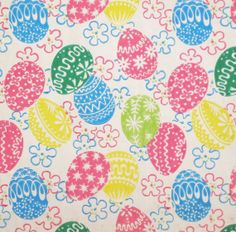 Colorful chicks n eggs vintage easter gift wrap wrapping paper vintage tie tie gift wrap wrapping paper by midcenturyaddiction 325 negle Images