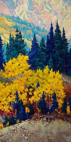 A collection of paintings by Canadian Artist Dominik Modlinski. Landscape Wallpaper, Watercolor Landscape, Abstract Landscape, Landscape Paintings, Watercolor Paintings, Autumn Painting, Canadian Art, Pastel Art, Art Abstrait