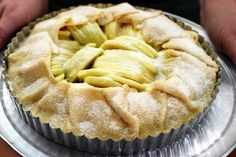 simplest apple tart, by smitten kitchen- TRY (with pears, also)