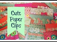 Thank you for watching! These paper clips were so much fun to make! xo Amber If you missed my first craft fair idea of my 2016 Craft Fair Series, you can wat...