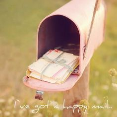 Imagine getting mail like...... this in my dreams
