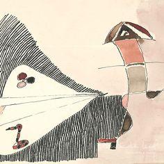1927-Geraldo Trindade Leal - Trindade Leal -  Nascimento: 1927 (Brasil, Rio Grande do Sul, Santana do Livramento) Morte: 28/7/2013. Pintor, Ilustrador, Desenhista, Gravador