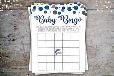 Confetti Bingo Cards - Confetti Party Package - Instant Digital Download