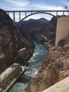 Hoover Dam bridge arizona/nevada