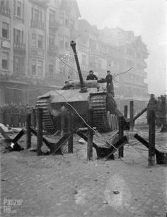 """Panzerkampfwagen V (7,5 cm Kw.K. L/70) """"Panther"""" (Sd.Kfz. 171) Ausf. D We may be in France circa 1944."""