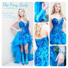 Foxy lady evening dresses
