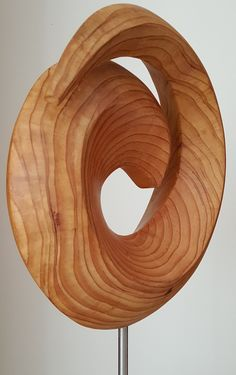 Wood sculpture.