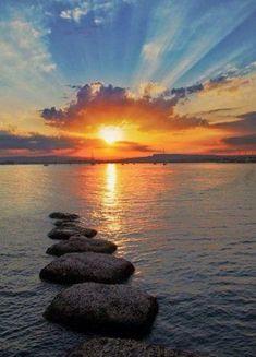 Inspiration For Landscape photography Picture Description sunset Amazing Sunsets, Amazing Nature, Beautiful World, Beautiful Images, Landscape Photography, Nature Photography, Beautiful Sunrise, Beautiful Beaches, Belleza Natural