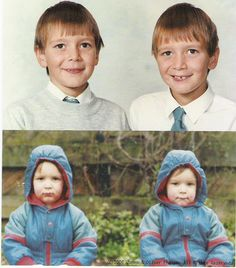 Young Fred and George