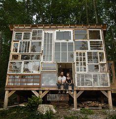 Glass Cabin in West Virginia