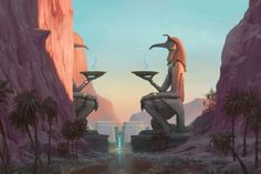 Architecture Ref #3 | The Gates of Thoth, Bruce Brenneise