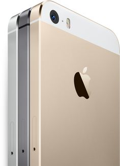 APPLE  :: The iPhone 5s (2013) - Available in Silver, Space Gray, and Gold features an A7 chip, a Touch ID fingerprint identity sensor, ultrafast LTE wireless, an iSight camera with a larger 8MP sensor, and iOS 7. #iphone5s