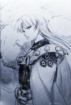 Magnificient Lord Sesshomaru by tkl.