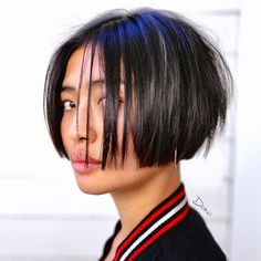 50 Blunt Cuts and Blunt Bobs That Are Dominating in 2020 – Hair Adviser – hair bangs long Short Thin Hair, Short Hair With Bangs, Short Hair Cuts, Short Hair Styles, Thin Bangs, Short Bob Haircuts, Short Hairstyles For Women, Hairstyles With Bangs, Layered Haircuts