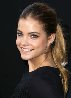 Statement Single Side Cuff Earring is a Trending Jewelry Style for Spring Summer 2014. Barbara Palvin wearing single side cuff earring at Hercules Premiere in Los Angeles 2014. #earrings #jewelry
