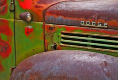 rusted Dodge