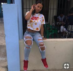 Lazy Brunch Outfits - Cool Easy Weekend Looks Swag Outfits For Girls, Cute Teen Outfits, Teenage Girl Outfits, Teenager Outfits, Dope Outfits, Teen Fashion Outfits, Church Outfits, School Outfits, Dress Outfits