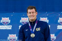 #TBT when TS Ambassador Peter Vanderkaay won gold in the 400m freestyle at the 2010 USA Swimming Champions!