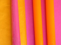 Pink and Orange Candles