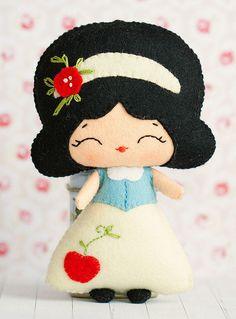 La princesa Blancanieves.