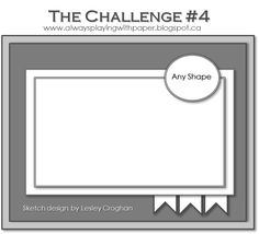 Always Playing with Paper: The Challenge #4 {Million & One}