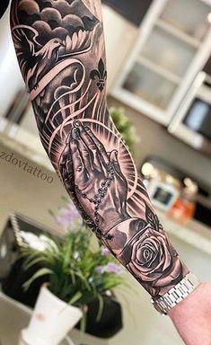 Half Sleeve Tattoos For Guys, Arm Sleeve Tattoos, Japanese Sleeve Tattoos, Tattoo Sleeve Designs, Forearm Tattoos, Tattoo Designs Men, Hand Tattoos, Tattoos For Women, Men Tattoo Sleeves