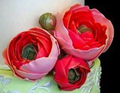 Sugar old flowers