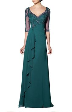 Emmani Women's Sheath Applique Illusion Sleeve Evening Dresses Mother Dresses * Review more details here : mother of the bride dresses