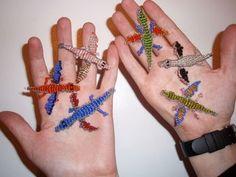 Craft bead ideas beadwork 50 ideas for 2019 Seed Bead Patterns, Beading Patterns, Stitch Patterns, Sewing Patterns Free, Free Sewing, Bead Lizard, Geek Cross Stitch, Rabbit Crafts, Dragon Bracelet