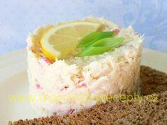 Rybí salát (jako humrový) – Maminčiny recepty Krabi, Cheesecake, Pudding, Food, Cheesecakes, Custard Pudding, Essen, Puddings, Meals
