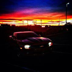 Chevy Camaro - Sunset Drive