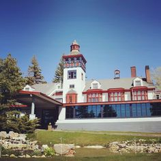 The Lodge Resort at Cloudcroft, NM.  It's haunted!