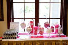 Candy Bar From Our Beach Wedding.