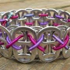 Soda tab bracelet