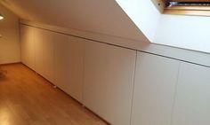 DIY einbauschrank unter der Dachschräge