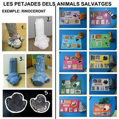 #12 LES POTES DELS ANIMALS SALVATGES I LES SEVES PETJADES - Gemma Vidal http://educacioilestic.blogspot.com.es/2013/05/ii-edicio-concurs-de-manualitats.html