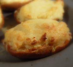 Rarebit jacket potatoes from The English Kitchen. --  Yummy!!!