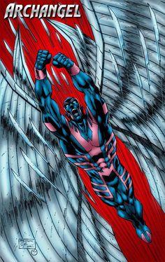 Archangel aka Angel - X-Men / Marvel Comics