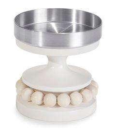 Ruustinna-kynttilänjalka, valkoinen