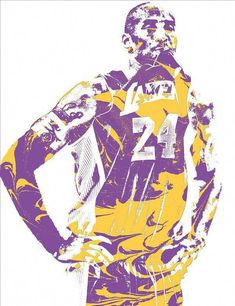 Kobe Bryant Los Angeles Lakers Pixel Art 21 Art Print by Joe Hamilton. All prints are professionally printed, packaged, and shipped within 3 - 4 business days. Bryant Basketball, Kobe Bryant Nba, Basketball Art, Basketball Pictures, Basketball Tattoos, Basketball Legends, Basketball Shooting, Basketball Players, Boston Celtics Wallpaper
