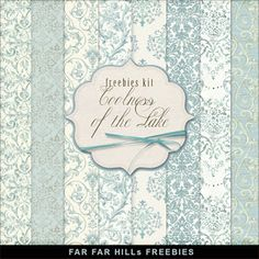 Far Far Hill - Free database of digital illustrations and papers: New Freebies Kit of Backgrounds - Сoolness of the ...