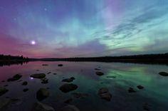 Manitoba - spectacular Northern Lights display