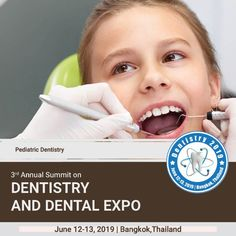 is the branch of dealing with children from birth through adolescence. dentists have the experience and abilities to direct to a teeth, and all through the distinctive periods of youth. Medical Conferences, Dentists, Adolescence, Dental Care, Pediatrics, Teeth, Health Care, Children, Young Children