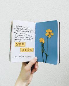 "467 Me gusta, 14 comentarios - Nicole (@nicolesartjournal) en Instagram: ""pressed flowers again for the first time after like 10 years ☀ · · · · #artjournal #artjournaling…"""